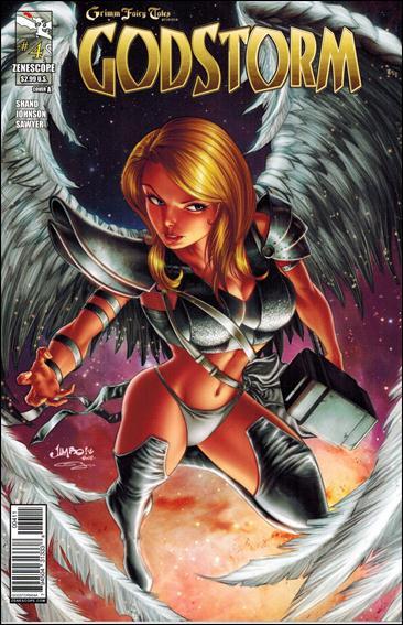 Grimm Fairy Tales Presents Godstorm 4-A by Zenescope Entertainment