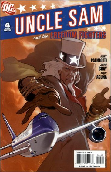 Uncle Sam and the Freedom Fighters (2006) 4-A by DC