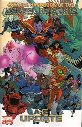 Official Handbook of the Marvel Universe A to Z Update 1-A by Marvel