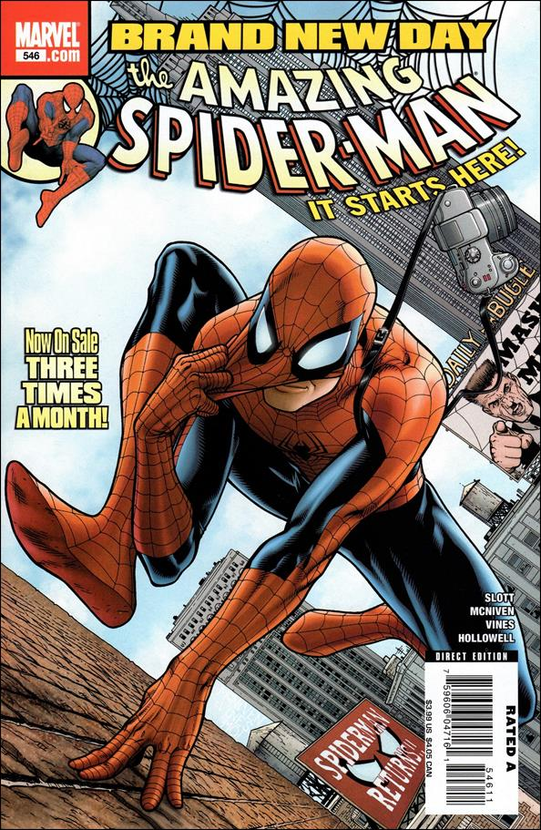 Amazing Spider-Man (1963) 546-A by Marvel