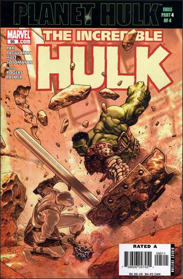 Incredible Hulk (2000)  95-A by Marvel