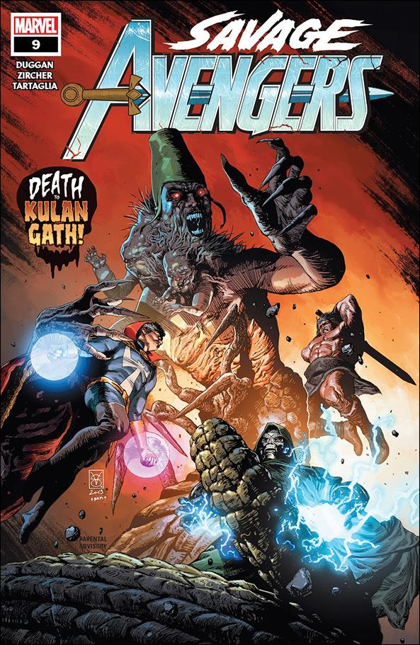 Savage Avengers 9-A by Marvel