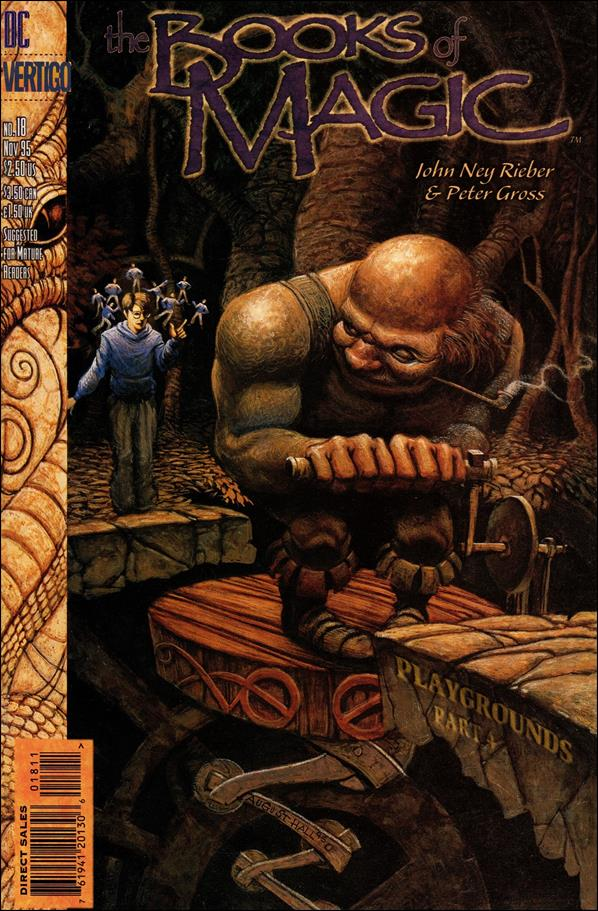 Books of Magic (1994) 18-A by Vertigo