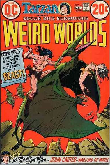 Weird Worlds (1972) 4-A by DC