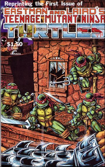 Teenage Mutant Ninja Turtles (1984) 1-D by Mirage
