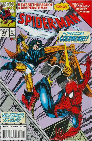 Spider-Man (1990) 49-A by Marvel