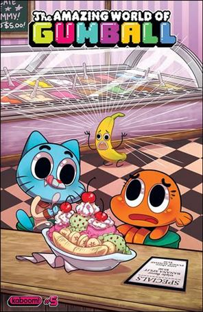 Amazing World of Gumball 5-A