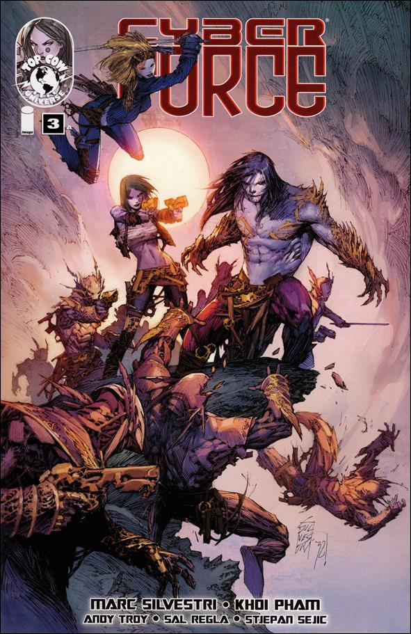 Cyberforce (2012) 3-A by Top Cow