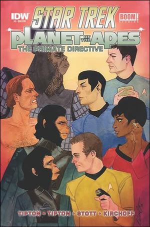 Star Trek/Planet of the Apes: The Primate Directive 3-B