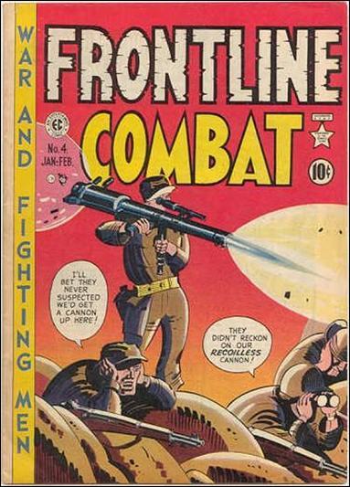 Frontline Combat (1951) 4-A by E.C.