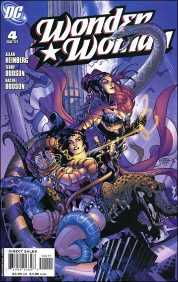 Wonder Woman (2006) 4-A by DC