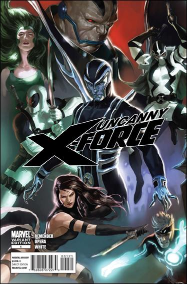 Uncanny X-Force (2010) 1-E by Marvel