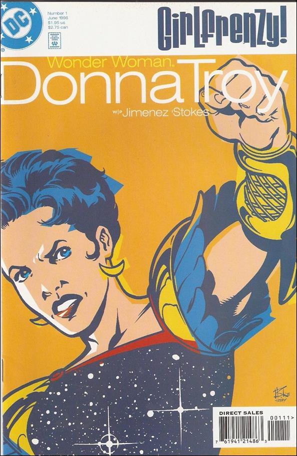 Wonder Woman: Donna Troy 1 A, Jun 1998 Comic Book by DC