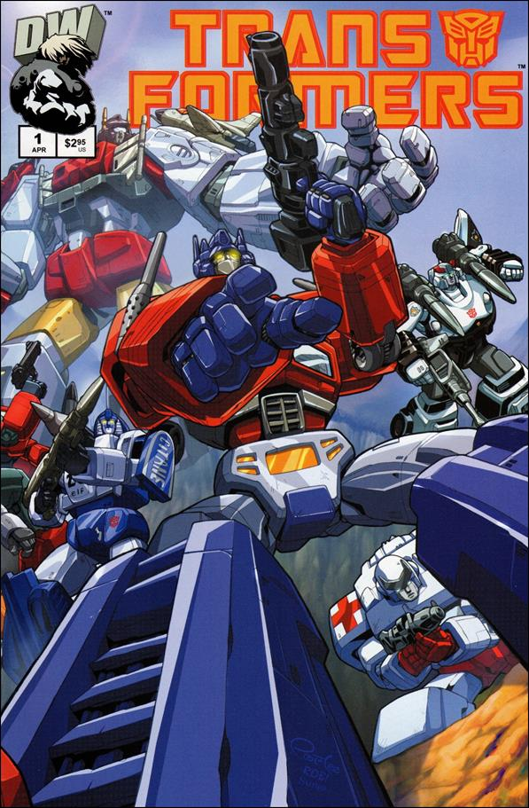 Transformers: Generation 1 (2002) 1-A by Dreamwave