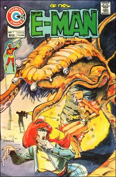 E-Man (1973) 7-A by Charlton
