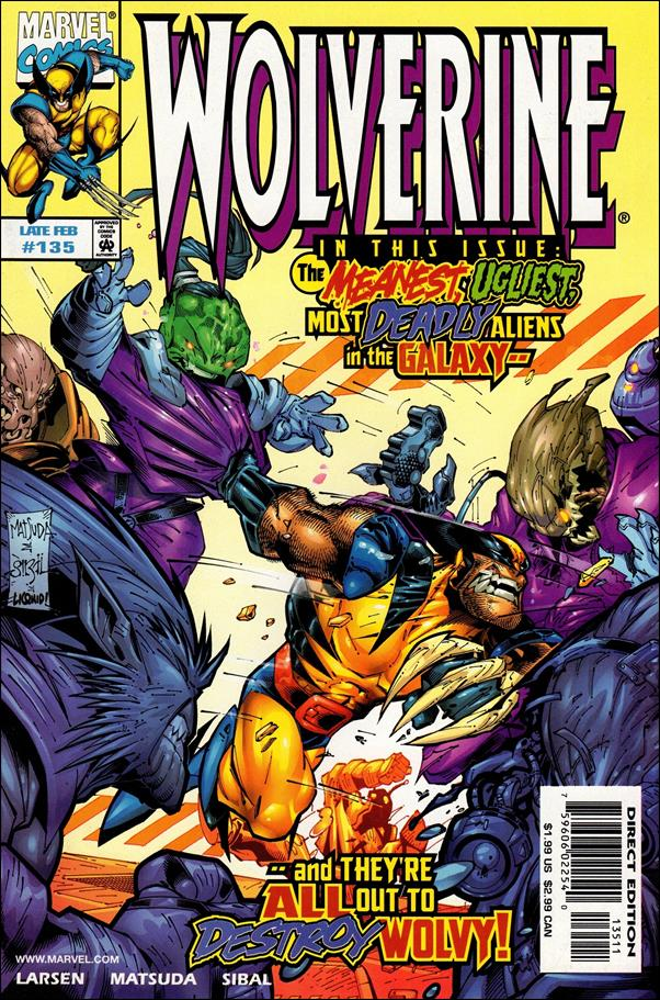 Wolverine (1988)  135-A by Marvel