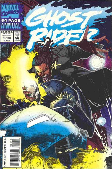 Ghost Rider Annual 1-B by Marvel