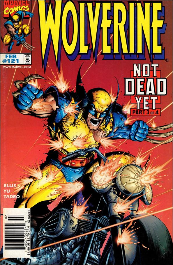 Wolverine (1988)  121-A by Marvel
