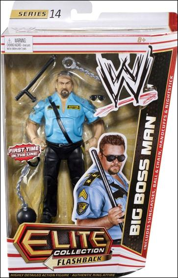WWE: Elite Collection (Series 14)  Big Boss Man by Mattel