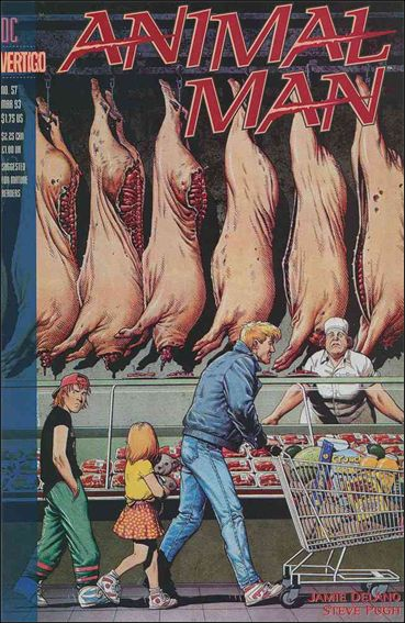 Animal Man (1988) 57-A by Vertigo