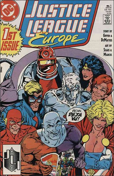 Justice League Europe 1-A by DC