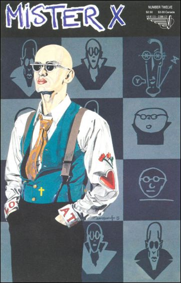 Mister X (1989) 12-A by Vortex Comics