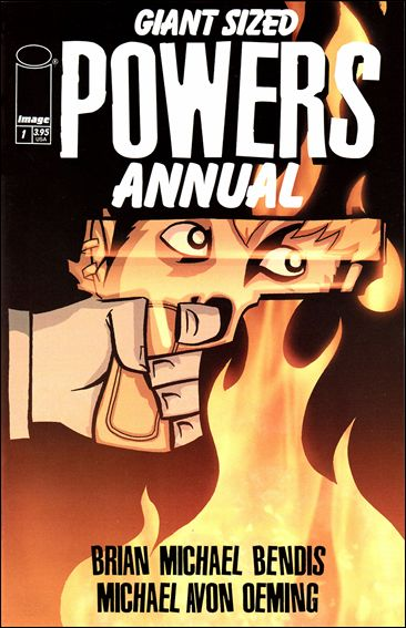 Powers Annual (2001) 1-A by Image