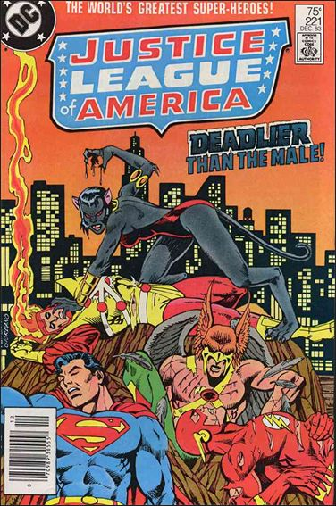 Justice League of America (1960) 221-A by DC