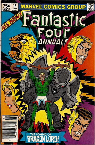 Fantastic Four Annual  16-A by Marvel