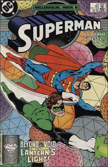 Superman (1987) 14-A by DC