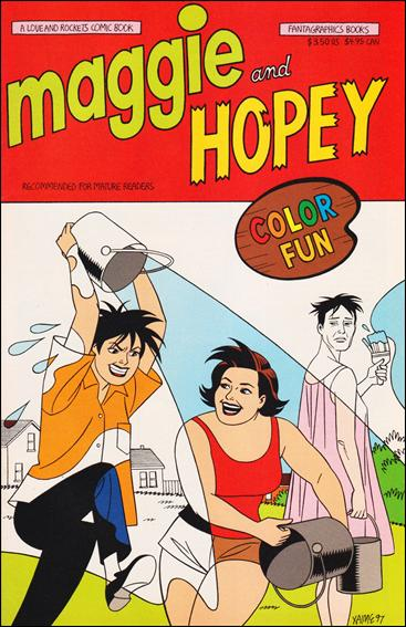 Maggie and Hopey Color Special 1-A by Fantagraphics