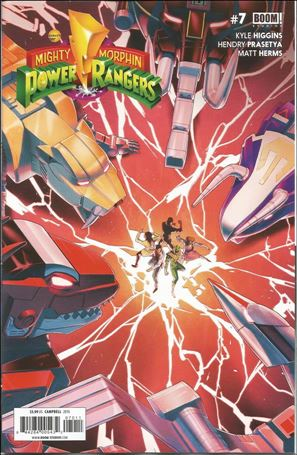 Mighty Morphin Power Rangers 7-A