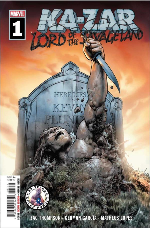 Ka-Zar: Lord of the Savage Land 1-A by Marvel