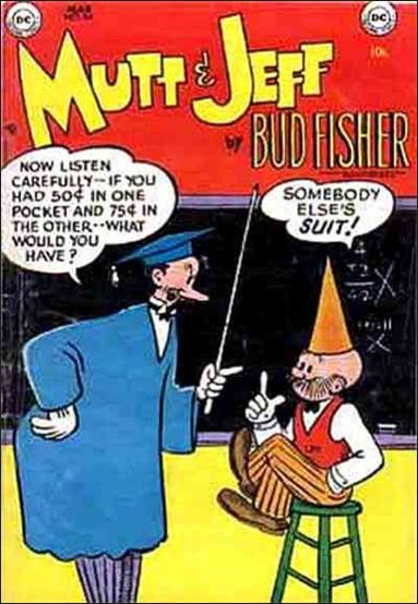 Mutt & Jeff 69-A by DC