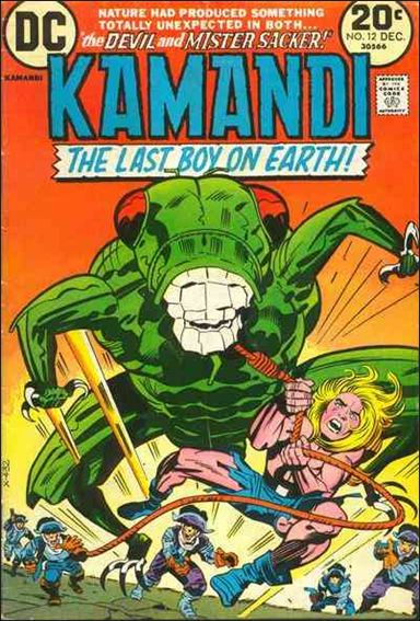 Kamandi, the Last Boy on Earth 12-A by DC