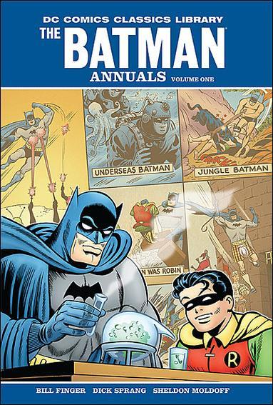 DC Comics Classics Library: The Batman Annuals 1-A by DC
