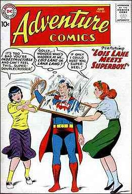 Adventure Comics (1938) 261-A by DC