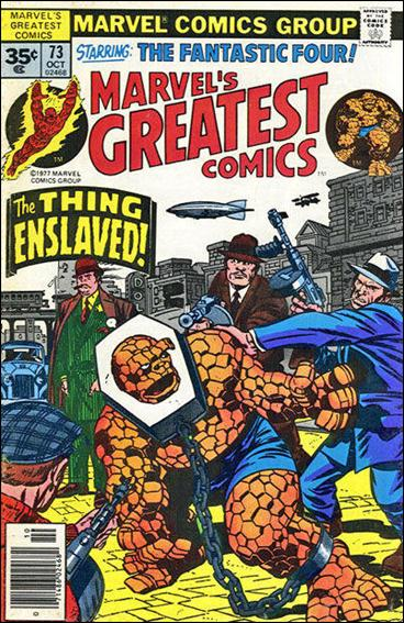 Marvel's Greatest Comics 73-B by Marvel