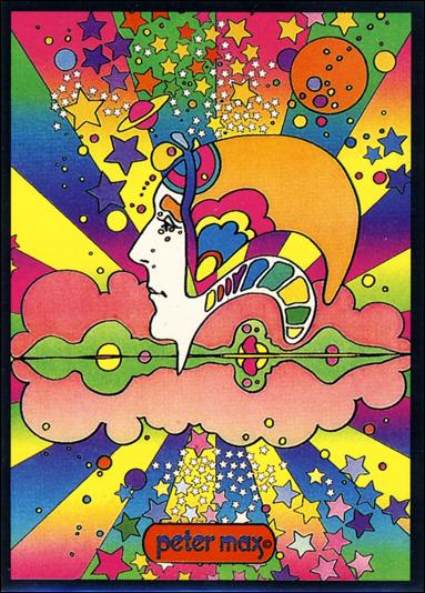 Peter Max (Base Set) 2-A by Peter Max Distributors