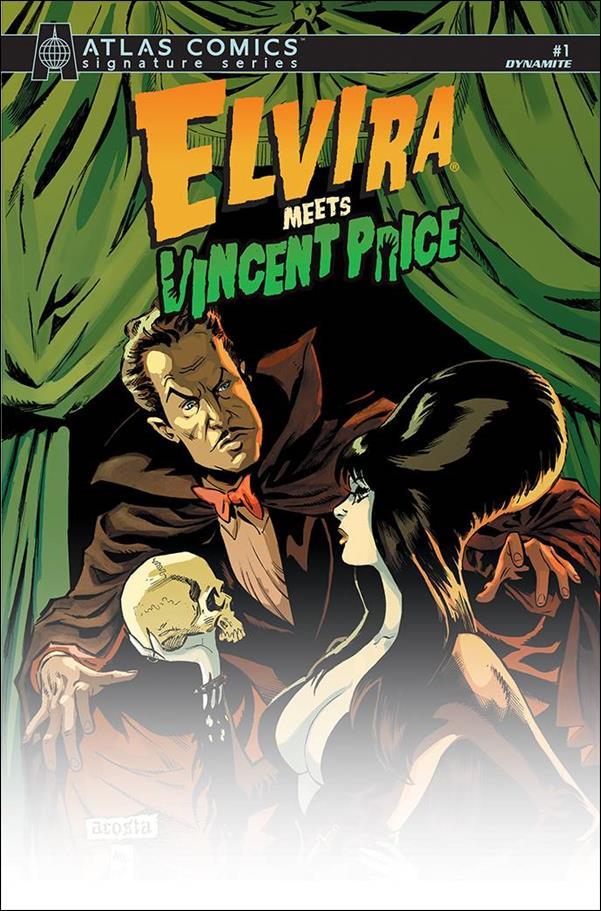 Elvira Meets Vincent Price 1-R by Dynamite Entertainment