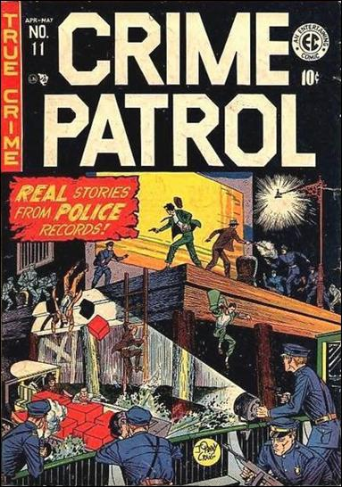 Crime Patrol (1948) 11-A by E.C.