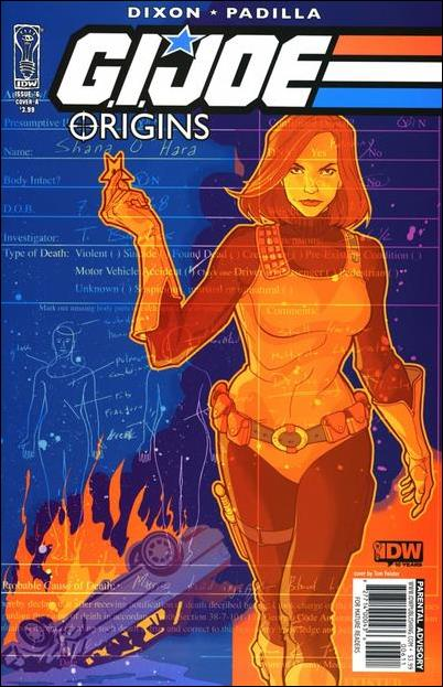 G.I. Joe: Origins 6-A by IDW