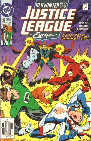 Justice League Europe 47-A by DC