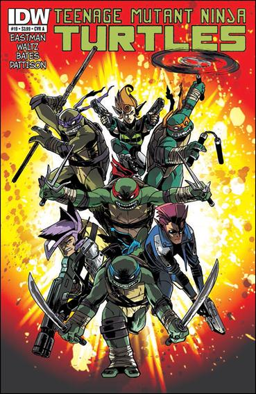 Teenage Mutant Ninja Turtles (2011) 19-A by IDW