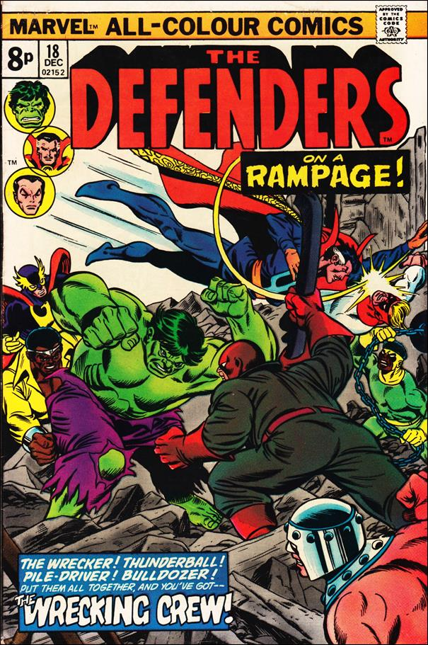 Defenders (1972) 18-B by Marvel