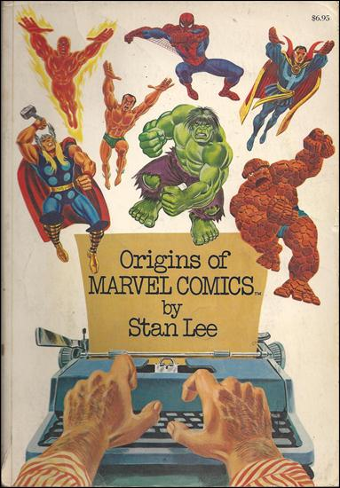 Origins of Marvel Comics 1-E by Simon & Schuster