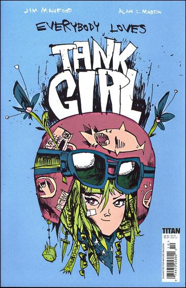 Everybody Loves Tank Girl 3-A by Titan