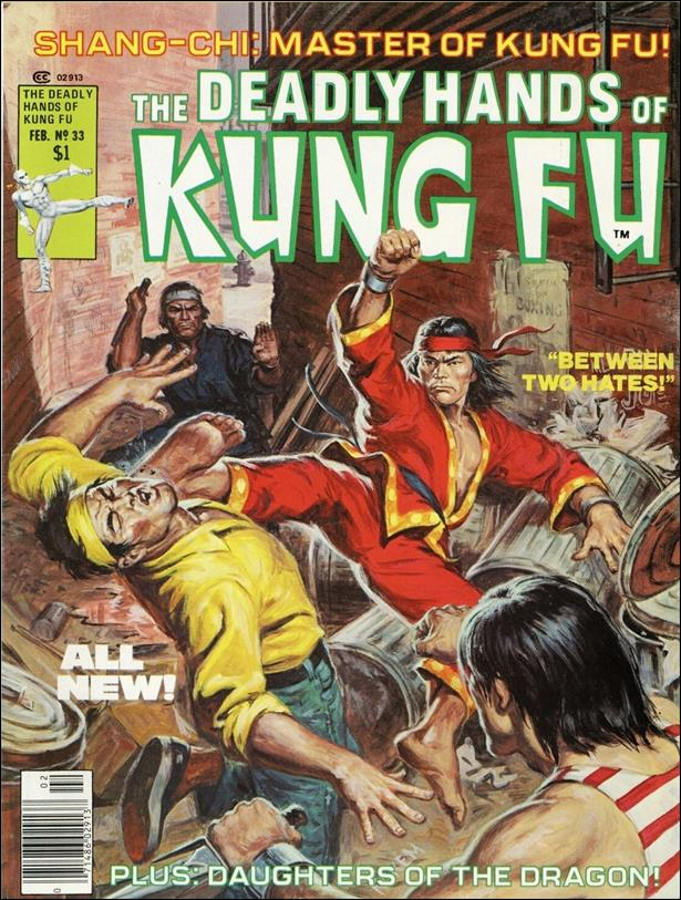 Deadly Hands of Kung Fu (1974) 33-A by Marvel