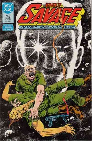 Doc Savage (1987) 3-A by DC