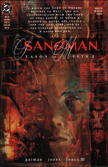 Sandman (1989) 23-A by Vertigo